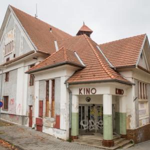 Bývalé kino Moravia v Třebíči