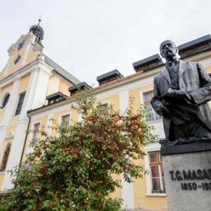 Socha T. G. Masaryka v Havlíčkově Brodě