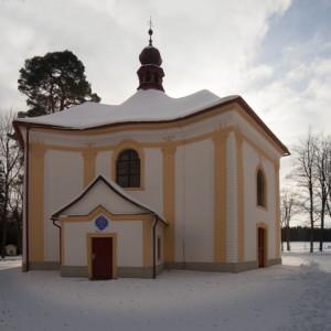 Poutní kostel sv. Anny v Pohledu