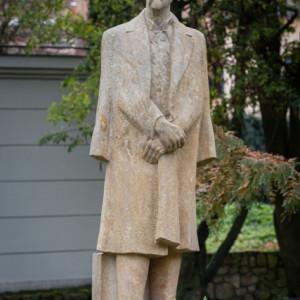 Socha T. G. Masaryka na ulici Jana Masaryka v Jihlavě