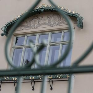 Detail vily Marie Karas v Jihlavě
