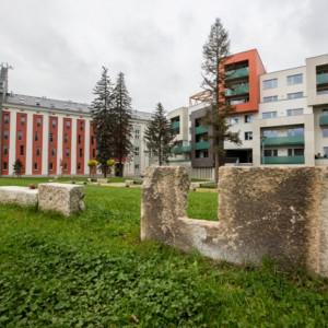 Bývalý areál Tesly, dnes Stříbrné terasy v Jihlavě