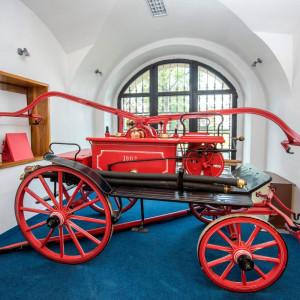Expozice na zámku Přibyslav