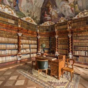 Knihovna v klášteře Nová Říše