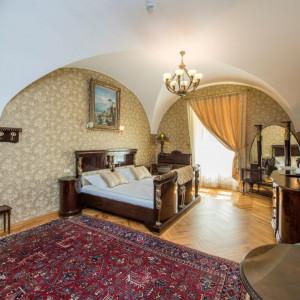 Interiér zámku Světlá nad Sázavou
