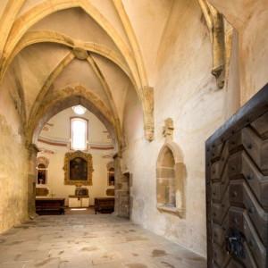 Kaple na hradě Lipnice nad Sázavou