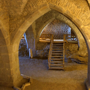 Sklepení hradu Lipnice nad Sázavou