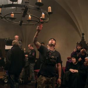 Natáčení filmu Jan Hus