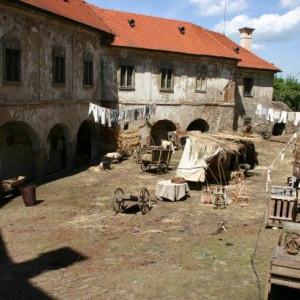 Natáčení pohádky Šťastný smolař na hradě v Ledči nad Sázavou