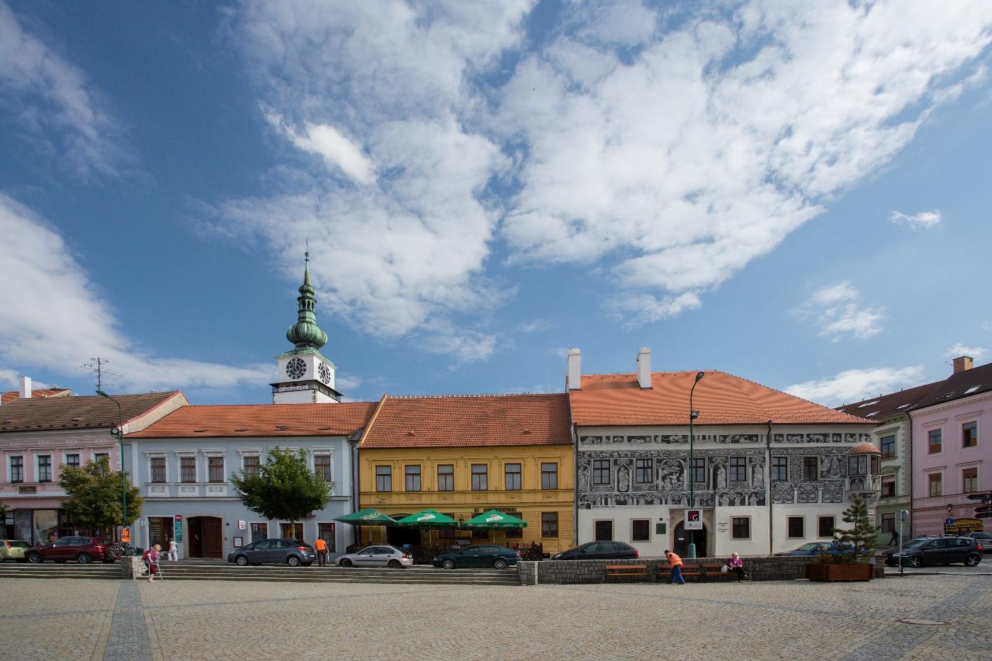 Karlovo náměstí Třebíč - vysocina.eu